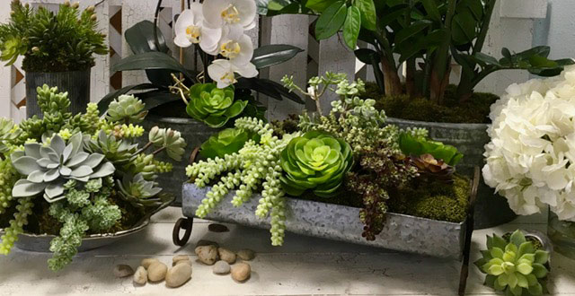Silk Flower Arrangements For Designers Hotels
